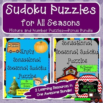 Sudoku Puzzles for All Seasons (Year Long Bonus Bundle)