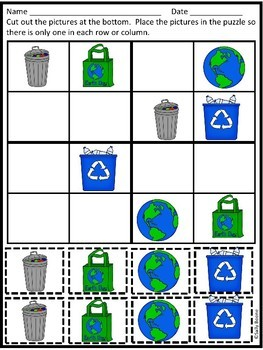 Earth Day Sudoku Puzzles for Beginners