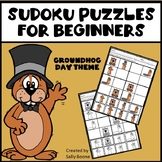 Sudoku Puzzles for Beginners Groundhog Day Theme