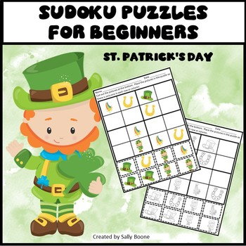 Sudoku Puzzles for Beginners St. Patrick's Day Theme
