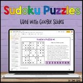 Sudoku Puzzles for Google Slides