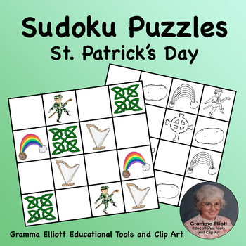 Sudoku Puzzles for St. Patrick's Day
