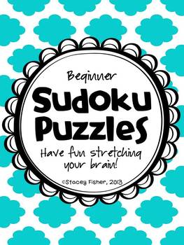 Sudoku Puzzles for Young Children-Differentiated Puzzles with Shapes and Dice