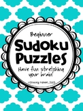Sudoku Puzzles for Young Children-Differentiated Puzzles w