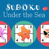 Easy Sudoku Puzzle Worksheet Pack