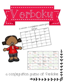 Sudoku - Verboku: A conjugation game