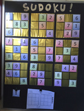 Sudoku Wall Display