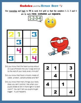 Sudoku and the Human Body