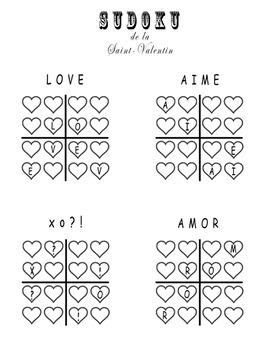 Sudoku d'Amour!