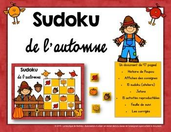 Sudoku de l'automne (Fall Sudoku) [Math Center]