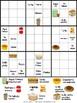 Sudoku de palabras ~ Comida