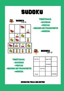 Sudoku diversas temáticas
