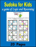 Sudoku for Kids:  Improving Logic and Reasoning