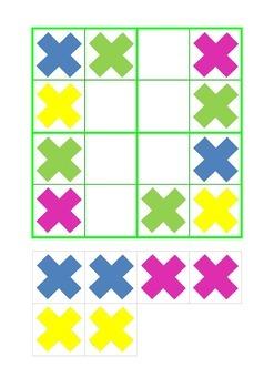 Sudoku for beginners 4 x 4 - level 1