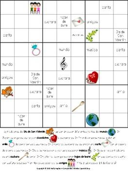 Sudoku informativo: El Día de San Valentín