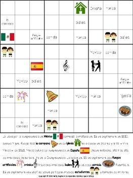 Sudoku informativo: La Independencia de México
