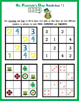 Sudoku on St. Patrick's Day