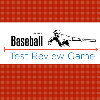 Sue Pal's Test Review Baseball Game