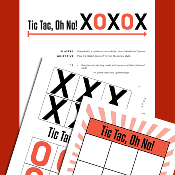 Sue Pal's Test Review Game Packet