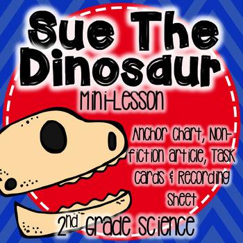 Sue The Dinosaur Mini Lesson-Fossils