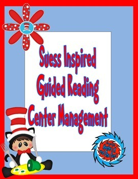 Suess Inspired Guided Reading Center Management K-2