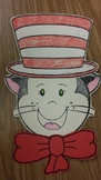 Suess -tastic hat for a great cat! hat for selfie or character pattern templates