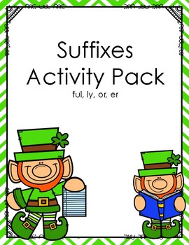 Suffix Activity (ly, or, er, and ful)