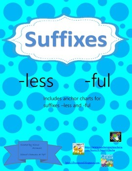 Suffix Anchor Chart -less -ful