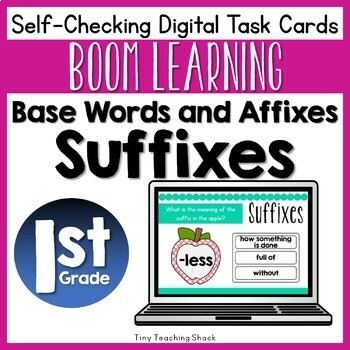 Suffix Boom Cards (Digital Task Cards)