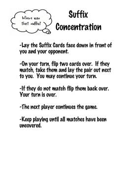Suffix Concentration