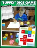 Suffix Dice Game: Engaging Manipulative