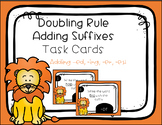 Suffix 1-1-1 Doubling Rule Task Cards