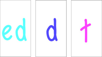 Suffix ED Activity Pack