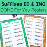Suffix ED and ING Worksheets & Activities | Inflectional Endings