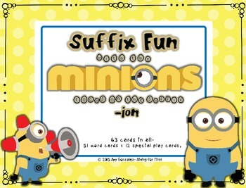Suffix Fun with the Minions