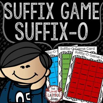 Suffixes Activity