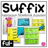 Suffix Interactive Notebook Activities: -ful | 5  Engaging Activities