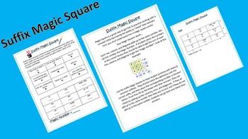 Suffix Magic Square