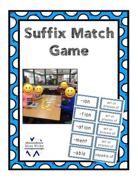 Suffix Match Game