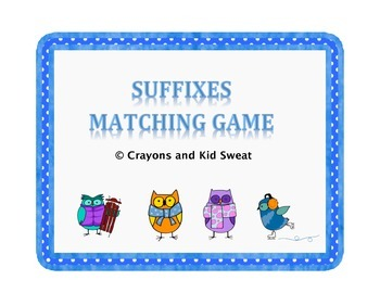 Suffix Matching Game