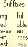 Suffix Meaning