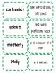 Suffix Memory/Matching Game