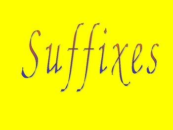 Suffix PPT