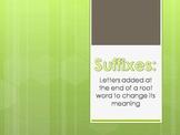 Suffix PowerPoint Presentation PPT