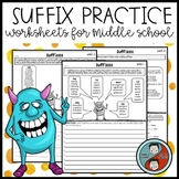 Suffix Practice Mini Lesson