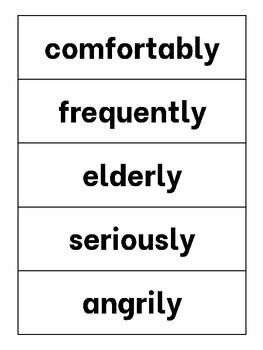 Suffix Practice Strips