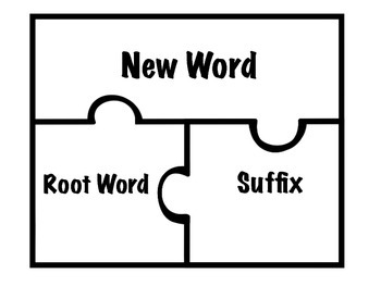 Suffix Puzzle Game