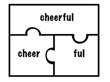 Suffix Puzzle Game