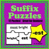 Suffix Puzzles ( -est )