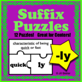 Suffix Puzzles ( -ly )